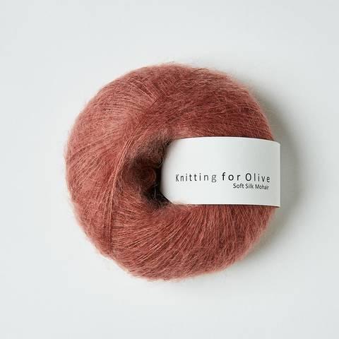 Bilde av Blommerosa - Knitting for Olive, Soft Silk Mohair