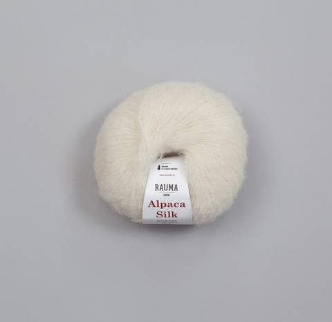 Bilde av 811 Natur - Rauma Garn, Alpaca Silk