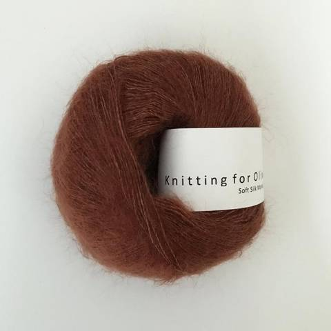 Bilde av Ny Rust - Knitting for Olive, Soft Silk Mohair