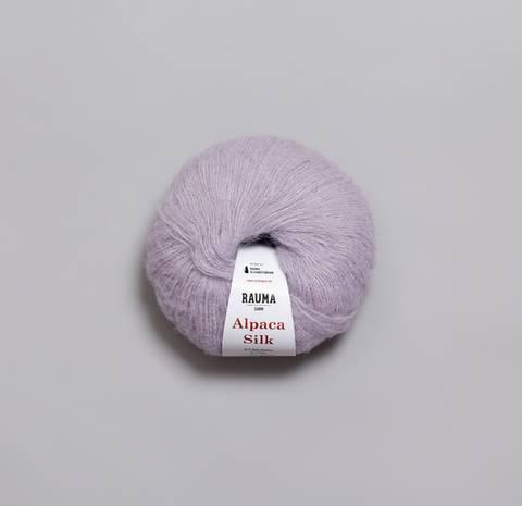 Bilde av 5769 Lys Lilla - Rauma Garn, Alpaca Silk