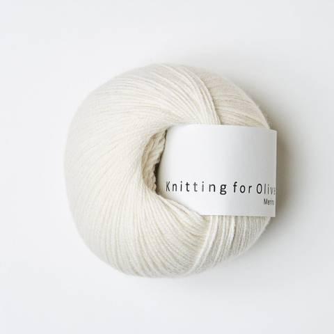 Bilde av Naturhvid - Knitting for Olive, Merino