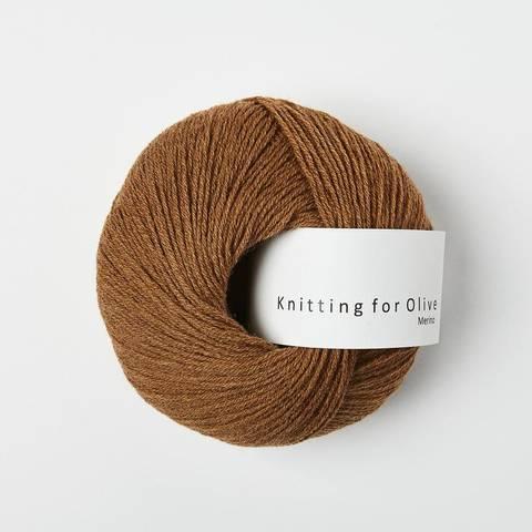 Bilde av Lys Cognac - Knitting for Olive, Merino