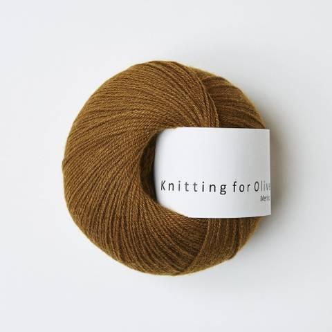 Bilde av Okkerbrun - Knitting for Olive, Merino