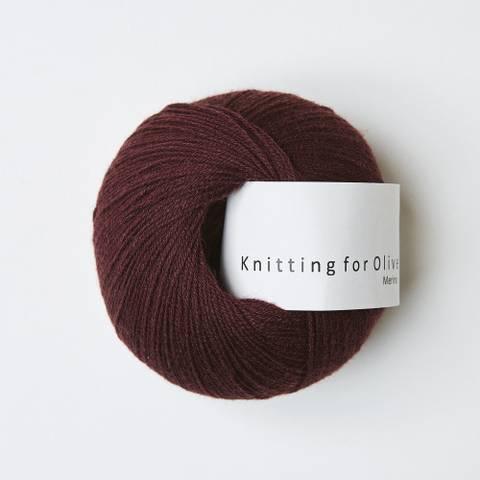 Bilde av Bordeaux - Knitting for Olive, Merino