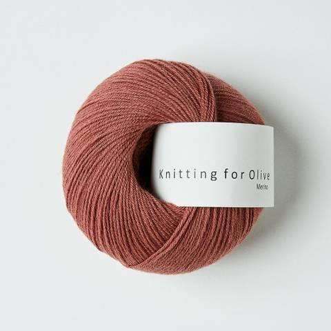 Bilde av Blommerosa - Knitting for Olive, Merino