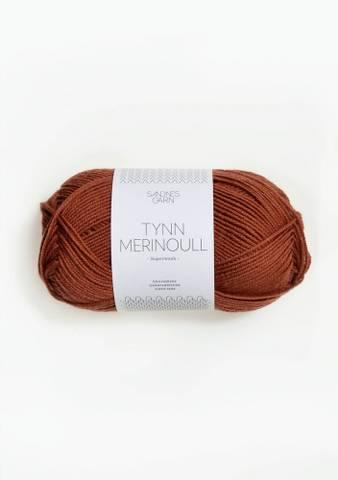 Bilde av 3355 Rust - Sandnes Garn, Tynn Merinoull