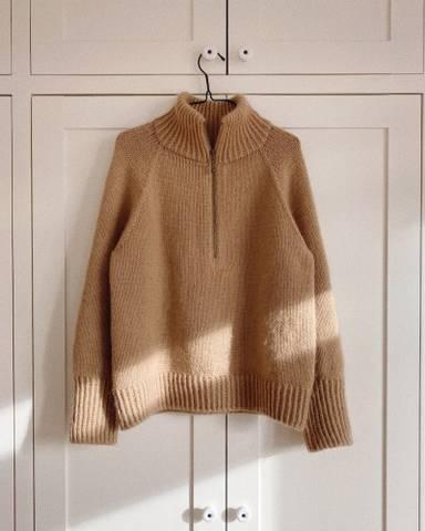 Bilde av Zipper Sweater - Petiteknit