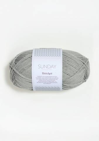 Bilde av 1031 Foggy Grey - Sandnes Garn, Sunday Petiteknit