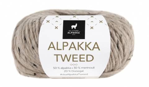 Bilde av 107 Beige - Du Store Alpakka, Alpakka Tweed