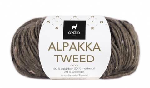 Bilde av 112 Brun - Du Store Alpakka, Alpakka Tweed