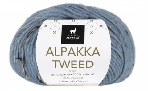 Bilde av 125 Lys Denim - Du Store Alpakka, Alpakka Tweed