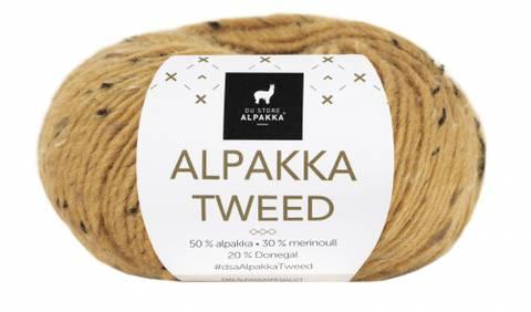 Bilde av 118 Gul - Du Store Alpakka, Alpakka Tweed
