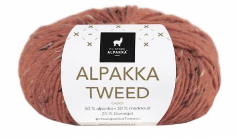 Bilde av 119 Rust - Du Store Alpakka, Alpakka Tweed