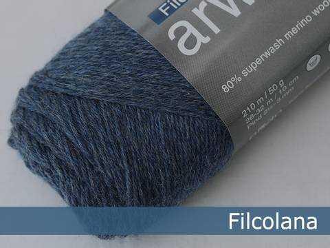 Bilde av Jeans Blue (melange) 726 - Filcolana, Arwetta