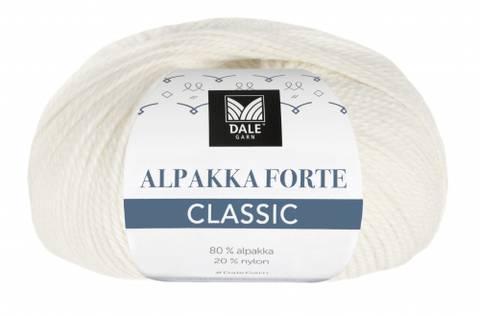 Bilde av 505 Hvit - Dale Garn, Alpakka Forte Classic