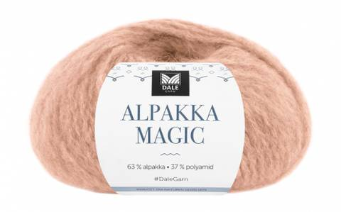 Bilde av 325 Beige Rose - Dale Garn, Alpakka Magic