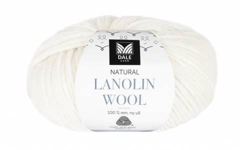 Bilde av 1438 Hvit - Dale Garn, Natural Lanolin Wool
