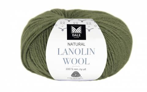 Bilde av 1436 Oliven - Dale Garn, Natural Lanolin Wool