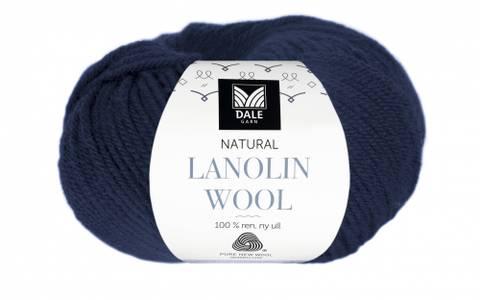 Bilde av 1408 Marine - Dale Garn, Natural Lanolin Wool