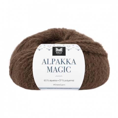 Bilde av 334 Varm Brun - Dale Garn, Alpakka Magic