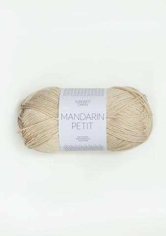 Bilde av 3011 Mandelhvit - Sandnes Garn, Mandarin Petit