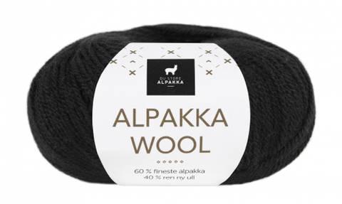Bilde av 526 Svart - Du Store Alpakka, Alpakka Wool