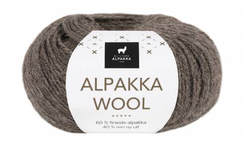 Bilde av 506 Brun Melert - Du Store Alpakka, Alpakka Wool