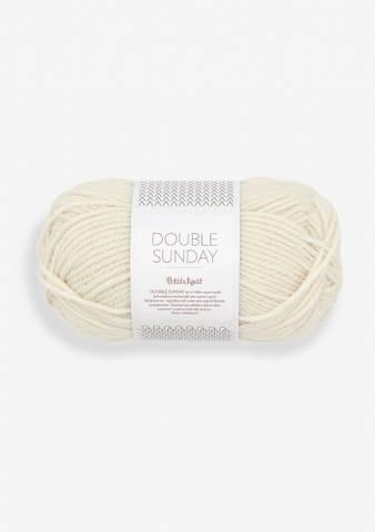 Bilde av 1012 Whipped Cream - Sandnes Garn, Double Sunday