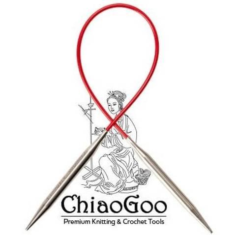 Bilde av ChiaoGoo Red Lace rundpinne 40 cm