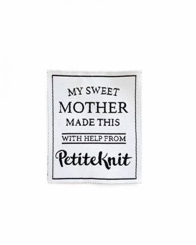 """Bilde av  """"My Sweet Mother Made This""""-label"""