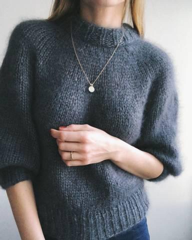 Bilde av Saturday Night Sweater - Petiteknit