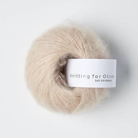 Bilde av Pudderrosa - Knitting for Olive, Soft Silk Mohair