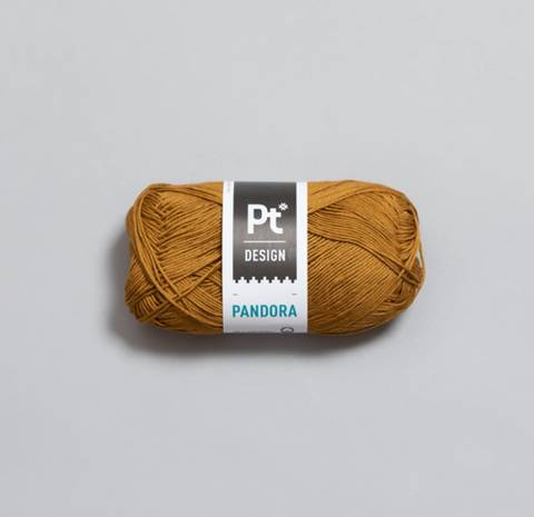 Bilde av 308 Oker - Rauma Garn, Pandora