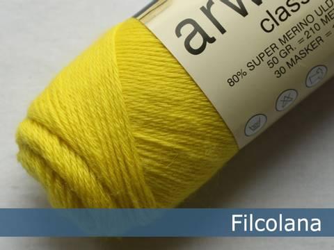 Bilde av Electric Yellow 251 - Filcolana, Arwetta