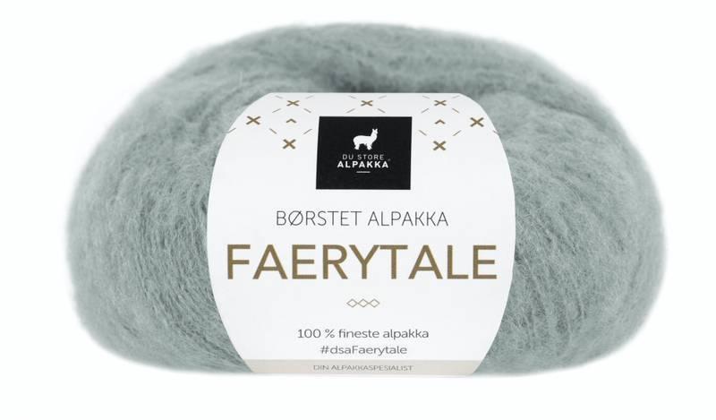 797 Støvet Duegrå - Du Store Alpakka, Faerytale