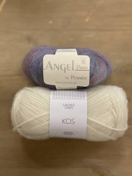 Novice Cardigan Mini - Chunky Edition med Angel Print