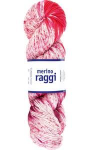 Bilde av MERINO RAGGI 01 Red & Rose