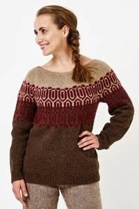 Bilde av Mønstret genser