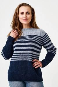 Bilde av LET LOOSE stripete genser