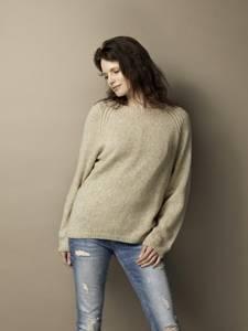 Bilde av SIMPLICITY genser med små fletter