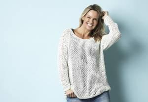 Bilde av Oversize genser med nettmasker