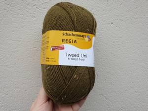 Bilde av Regia 6-fach Tweed 2248 Kakigrønn