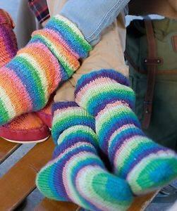 Bilde av Basisoppskrift til 6-tråds sokkegarn