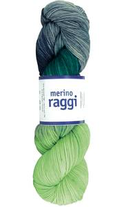 Bilde av MERINO RAGGI 08 Lime & rocky grey
