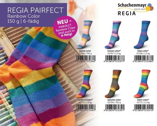 REGIA PAIRFECT Rainbow Color 6-tråds 2767