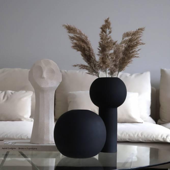 Bilde av Cooee Vase Ball 20 cm - Sort
