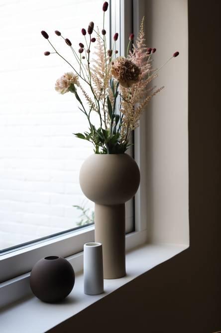 Bilde av Cooee Vase Pillar 32 cm - Sand