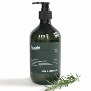 Bilde av Meraki Hair & Body Wash Men