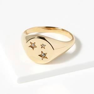 Bilde av Crystal Star Ring