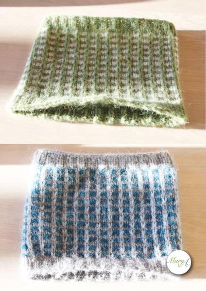 Bestemor-Buffen, strikkeoppskrift